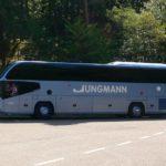 Unser Bus mit Fahrer Norman