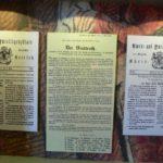 Diverse Urkunden