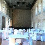 Neuer Festsaal in altem Gemäuer