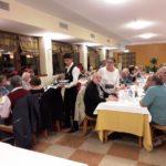 Am späten Abend angekommen im Hotel Poiano in Garda und bereits verpflegt