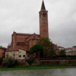 """Sant`Anastasia"", die größte Kirche in Verona"
