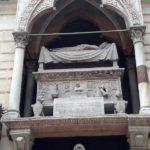 Die Grabstätte eines Mitgliedes der Herrscherfamilie der Scaliger von 1260-1387