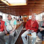 Im Schuttleschiff nach Venedig in spannender Erwartung