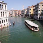 Der Canale Grande von der Rialtobrücke aus