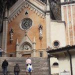 Der Eingang zur Wallfahrtskirche