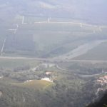 Blick von der Wallfahrtskirche ins Etschtal mit der Brennerautobahn