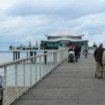 Die Seebrücke zum Teehaus