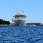 Besuch im Hafen