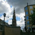 Die Frelsers Kirche mit dem Spiralturm (125 Stufen aussen)