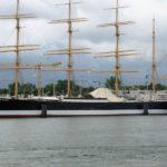Das Segelschulschiff der Deutschen Marine, die Passat