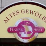 Zur Sektprobe in Wismar