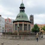Der Stadtbrunnen in Wismar