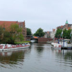 Einer der vielen Schifffahrtswege in Lübeck