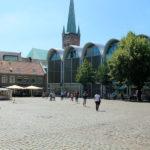 Der Marktplatz in Lübeck