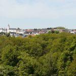 Mettlach-Orscholz vom Turm aus gesehen