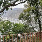 Ein Blick ins Rheintal flussabwärts
